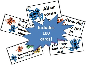 Rainforest Reading -  100 Common Phrases Fluency Game
