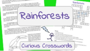Science Reading Activity- Rainforests