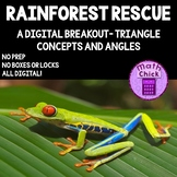 Rainforest Rescue: Digital Breakout about Triangle Concepts and Angles