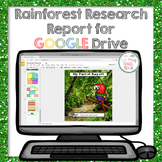 Digital Rainforest Animal Research