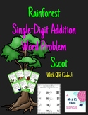 Rainforest Scoot - Single Digit Addition Word Problems