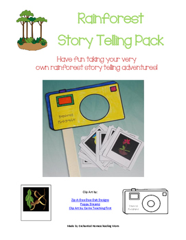 Rainforest Story Telling Adventure Pack