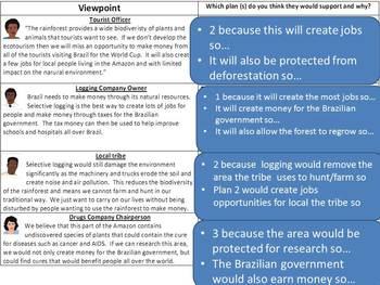 Rainforest Sustainable Management Lessons