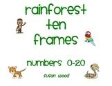 Rainforest Ten Frames
