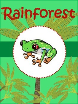 Science Unit: The Rainforest: Learn about the layers of th