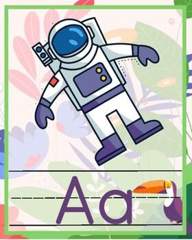 Rainforest Theme ABC Posters