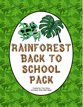 Back to School - Rainforest
