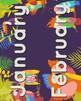 Rainforest Theme Displays {ABC, #s, Colors, MORE}
