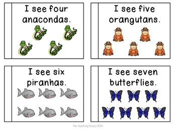 Rainforest Theme Learning Pack