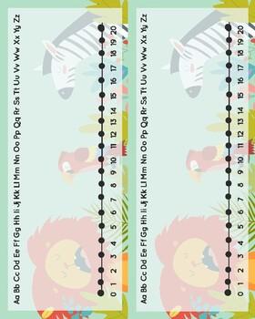 Rainforest Theme Table Labels