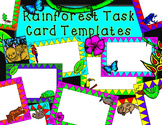Rainforest Theme Task Card Frames by Kid-E-Clips