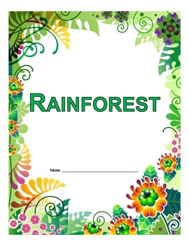 Rainforest Theme Unit