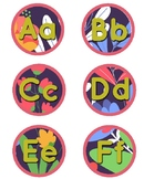 Rainforest Theme Word Wall Letters