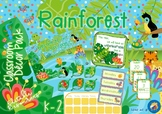 Rainforest Themed Classroom Decor Pack