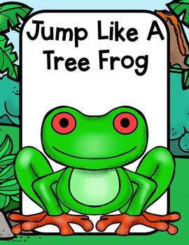 Rainforest Themed Movement Cards