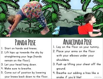 Rainforest Themed Yoga - Kids