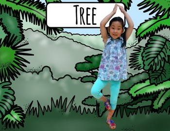 Rainforest Themed Yoga - Kids