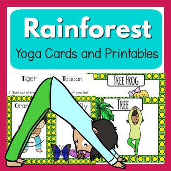 Rainforest  Yoga - Clip Art Kids