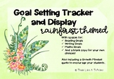 Rainforest Tropical Theme Goal Setting and Tracking Display