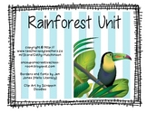 Rainforest Unit for Early Elementary
