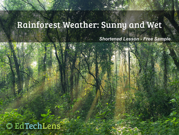 Rainforest Weather! Sunny and Wet PDF Free Sample
