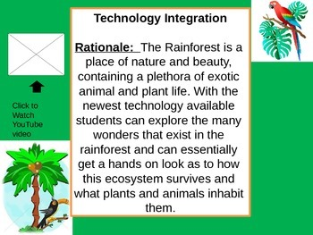 Rainforest Webquest Part 1