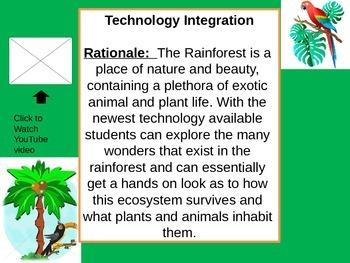 Rainforest Webquest Part 1