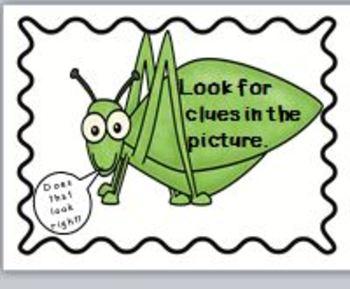 Rainforest Word Attack Strategies Poster/bookmark