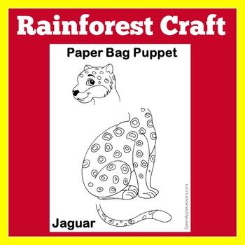 Rainforest Animal Worksheet   Jaguar