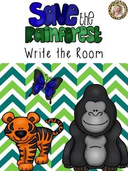 Rainforest Write the Room
