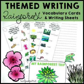 Rainforest Writing Activity
