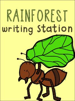 Rainforest Writing Station