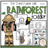 "Rainforest for Toddler ""No Prep"""