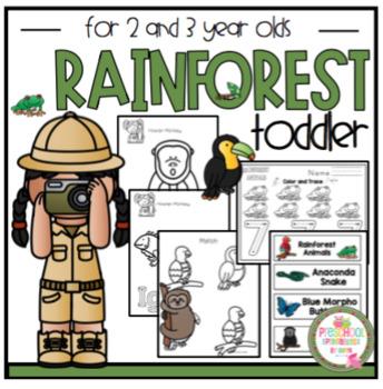 "Rainforest for Toddler ""No Prep"""