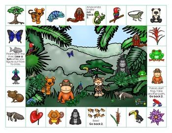 Rainforest on Reading Street - Grade 1 Spelling Words