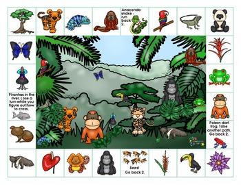 Rainforest on Reading Street - Grade 2 Spelling Words