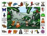 Rainforest on Reading Street - Grade 3 Spelling Words