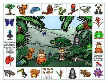 Rainforest on Reading Street - Grade 5 Spelling Words
