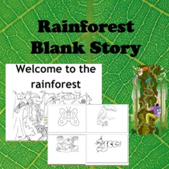 Rainforest story for Early Readers