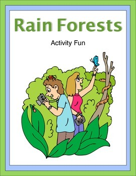 Rainforests Activity Fun