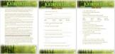 Rainforests- Comprehension