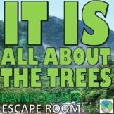 Rainforests ESCAPE ROOM: 10 Challenges, Answer Key, Resour