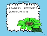 Rainforests - 2nd Grade ( Reading Wonders) - Tri Folds + Activities