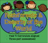 Rainforests and Deserts of the World
