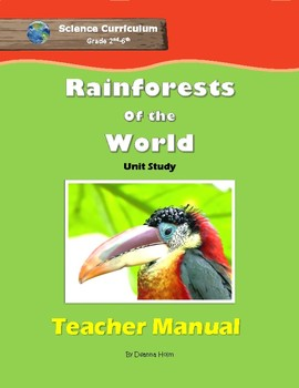 Rainforests of the World: Teacher Manual eBook