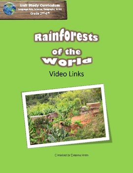 Rainforests of the World: Video Links