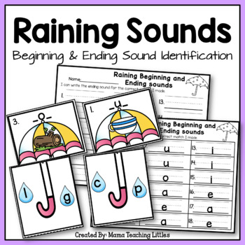 Raining Beginning and Ending Sounds