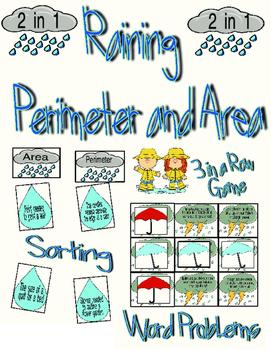Raining Perimeter and Area