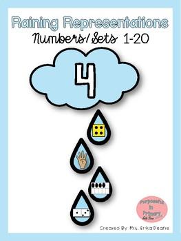 Raining Representations Numbers 1-20