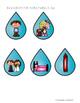 Raining Short -e Picture & Word Sort
